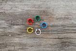 Klipp-Ringe aus Kunststoff 8 mm