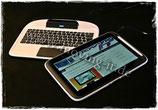 SkooPad - Tablet PC mit abnehmbarer Tastatur
