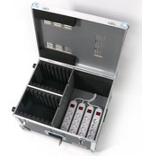 Miet-Trolley - Netbook Case - iPad-Trolley (16) mit Rollen inkl. Lade-Set