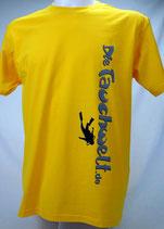 Tauchwelt T-Shirt Herren gelb