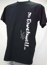 Tauchwelt T-Shirt Herren schwarz