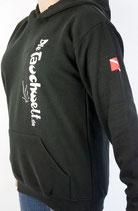 Tauchwelt Kapuzen Shirt schwarz