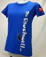 Tauchwelt T-Shirt Damen blau