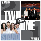 Avalon - Two For One : Stand / Creed 2-CD