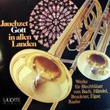 Laudate Bläserchor - Jauchzet Gott in allen Landen (Vinyl-LP vg+)
