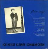 Peter singt - Ich heisse kleiner Sonnenschein
