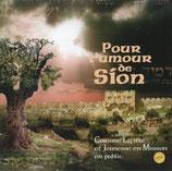 Pour l'amour de Sion - Corinne Lafitte et Jeunesse en Mission en public