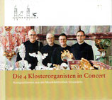 Die 4 Klosterorganisten in Concert - Kompositionen aus der Musikbibliothek Einsiedeln