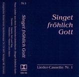 EBV - Singet fröhlich Gott - Lieder-Cassette Nr.1