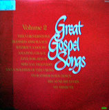 Great Gospel Songs Volume 2 : Tom Netherton, Anita Kerr, B.J.Thomas, Billy Preston, Honeytree, Evie, Tennessee Ernie Ford, George Beverly Shea, Bill Gaither Trio, Davie Boyer