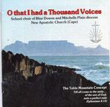 NAK : O that I had a Thousand Voices