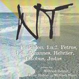 NT - Die Bibel gelesen : Philemon, 1.+2.Petrus, 1.+3.Johannes, Hebräer, Jakobus, Judas (Wilfried Reuter, Wilfried Mann, Peter Hahne) 2-CD