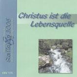 EBV - Christus ist die Lebensquelle (Gesamtgemischtchor & Gesamtmännerchor & Gesamtgitarrechor Steffisburg 2005