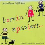 Jonathan Böttcher - herein spaziert (Lieder für kleine und grosse Leute)