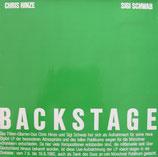 Siegfried Schwab / Chris Hinze - Backstage VINYL-LP vg+