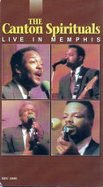 THE CANTON SPIRITUALS Live in Memphis - VHS NTSC Video