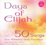 Kingsway Music : Days Of Elijah - 50 Songs Live Worship From FocusFest with Geraldine Latty (3-CD Box)