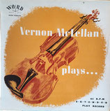 Vernon McLelland plays ...