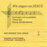 EBV - Wir singen von Jesus