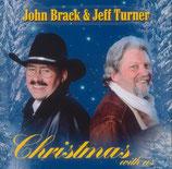 John Brack & Jeff Turner - Christmas With Us (CD-Cover signiert)