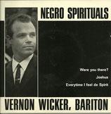Vernon Wicker - Negro Spirituals