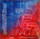 Mario Schaub mit Förderband - Wie ein Dieb in der Nacht