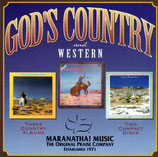 Maranatha Music - God's Country and Western : God Loves Country Music / Country Praise / Gospel Cannonball (3-CD-Box)