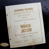 Mahalia Jackson (Kenwood Records)