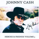 Johnny Cash - Heroes & Friends Volume 3