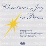 FEG Brass Band Sulgern / Calvary Singers - Christmas-Joy in Brass