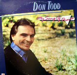 Don Todd - My Song of Praise