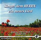 Singet dem Herrn ein neues Lied (2-CD)