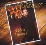 Gene McDonald - I Have Returned -