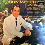 John McDuff - Sings