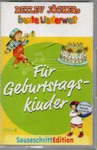 Detlev Jöcker's bunte Liederwelt - Für Geburtstagskinder MC