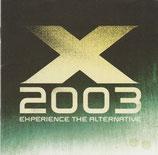 Experience The Alternative X 2003 (2-CD)