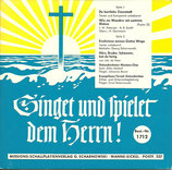 Gelsenkirchener Missions-Chor u.Evangeliums-Terzett - Singet und spielet dem Herrn 1712