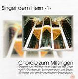 Hermann Engel - Singet dem Herrn 3 : Choräle zum Mitsingen