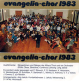 Evangelia-Chor 1983