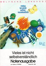 """Notenausgabe """"Vieles ist nicht selbstverständlich"""" von Wolfgang Longardt"""