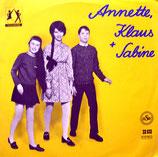 Annette, Klaus und Sabine