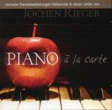 Jochen Rieger - Piano à la Carte