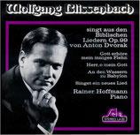 Wolfgang Blissenbach singt biblische Lieder von Anton Dvorak