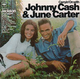 JOHNNY CASH : Carryin' On With Johnny Cash & June Carter