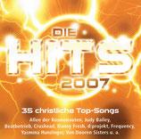 Gerthmedien Sampler : Die Hits 2007 (2-CD) Allee der Kosmonauten, Judy Bailey, Beatbetrieb, d:projekt, u.a.