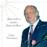 Edwin Donnabauer - Jeder soll es wissen : Jesus ist Herr!