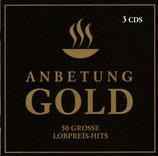 Anbetung Gold : 50 Grosse Lobpreis-Hits (3 CDs)