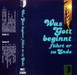 WDL Freitzeitlieder 1989 - Was Gott beginnt führt er zur Ende