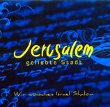 Jerusalem geliebte Stadt CD