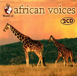 The World of african voices 2 CD (Waves Band, Them Mushrooms, Kawesa, u.a.)